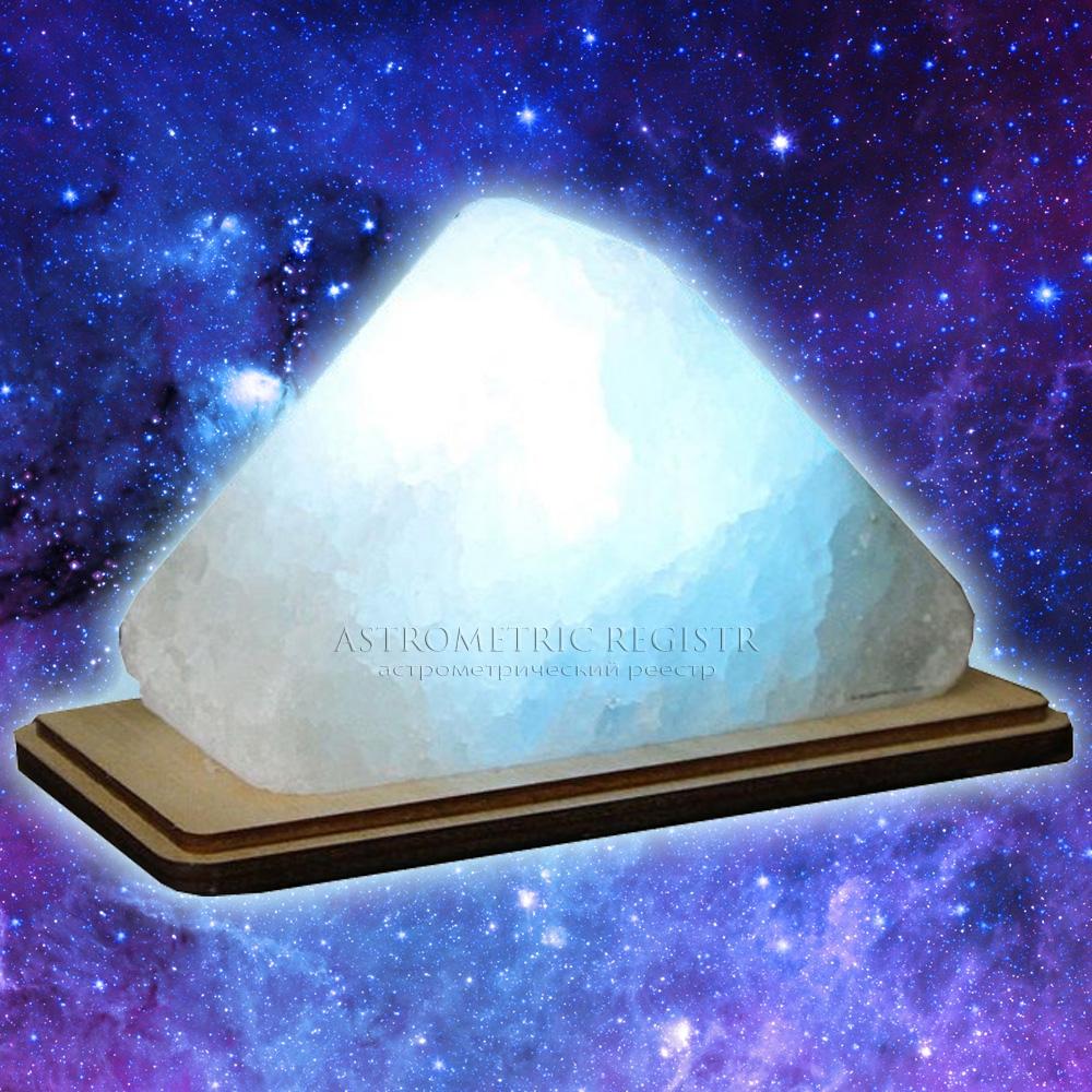 Лампа Астро Дельта треугольник синий