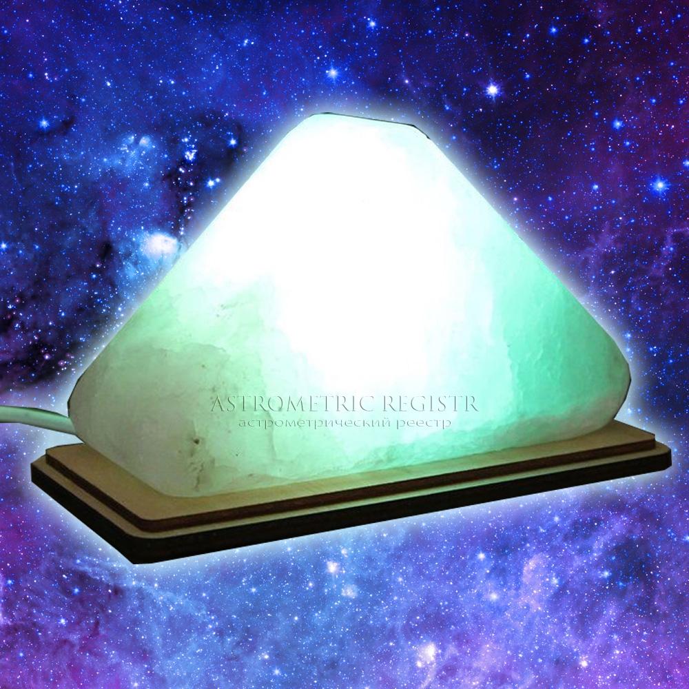 Лампа Астро Дельта треугольник зеленый